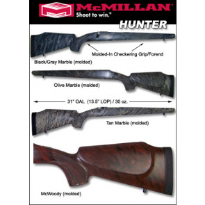 McMillan Hunter Remington 700 788 600 Fiberglass Stock