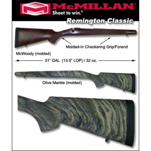 McMillan Remington Classic 700 788 600 Fiberglass Stock