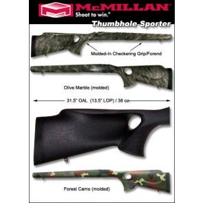 McMillan Thumbhole Remington 700 Fiberglass Stock