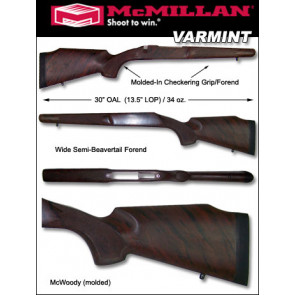 McMillan Remington Varmint 700 788 600 Fiberglass Stock