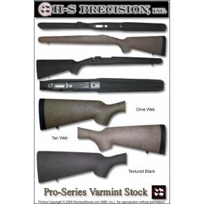 H-S Precision Pro-Series 2000 Varmint Stocks - Winchester 70 Varmint Tactical & FN Patrol Bolt Rifle (PBR)