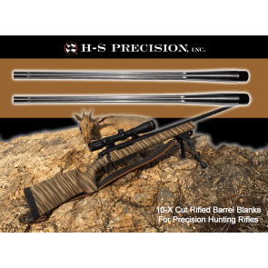 H-S Precision® Match Grade Precision Barrel Blanks