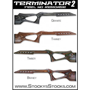Package Deal! Ruger 10/22 Terminator Stock and Micro Groove Barrel