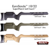 Stocky's® Euro SuperMatch™ Designed For Ruger® 10/22® SoftTouch™ Fully Adjustable Stock - .920 Bull Barrel