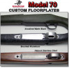 Winchester 70 Post-64 One Piece Custom Drop In Triggerguard / Hinged Floorplate Upgrade - Traditional - Steel & Aluminum