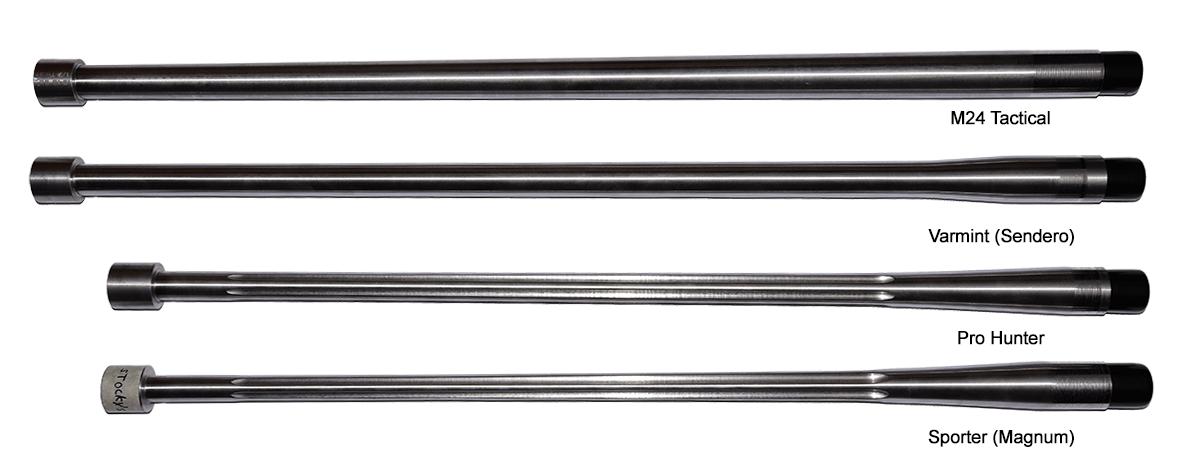 H-S Precision Barrel Blanks - Configuration