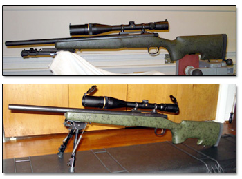 Remington 700 w/ 2956 A# Bell & Carlson