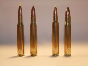 Your .270 and .30-06 (left) rifles are excellent for rebarreling to .280 Ackley and .35 Whelen to improve performance.